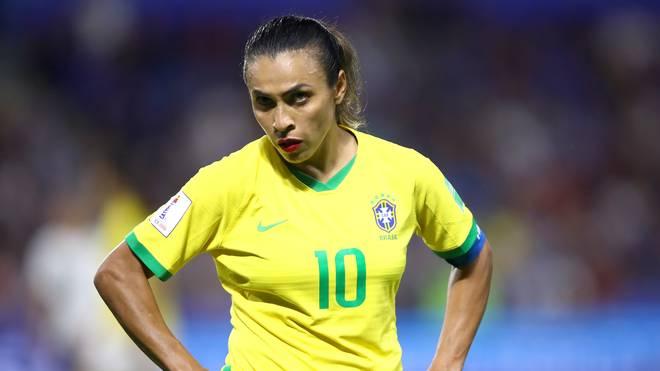 Marta musste bereits im WM-Achtelfinale die Segel streichen