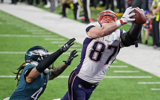 Rob Gronkowski bleibt den New England Patriots wohl erhalten