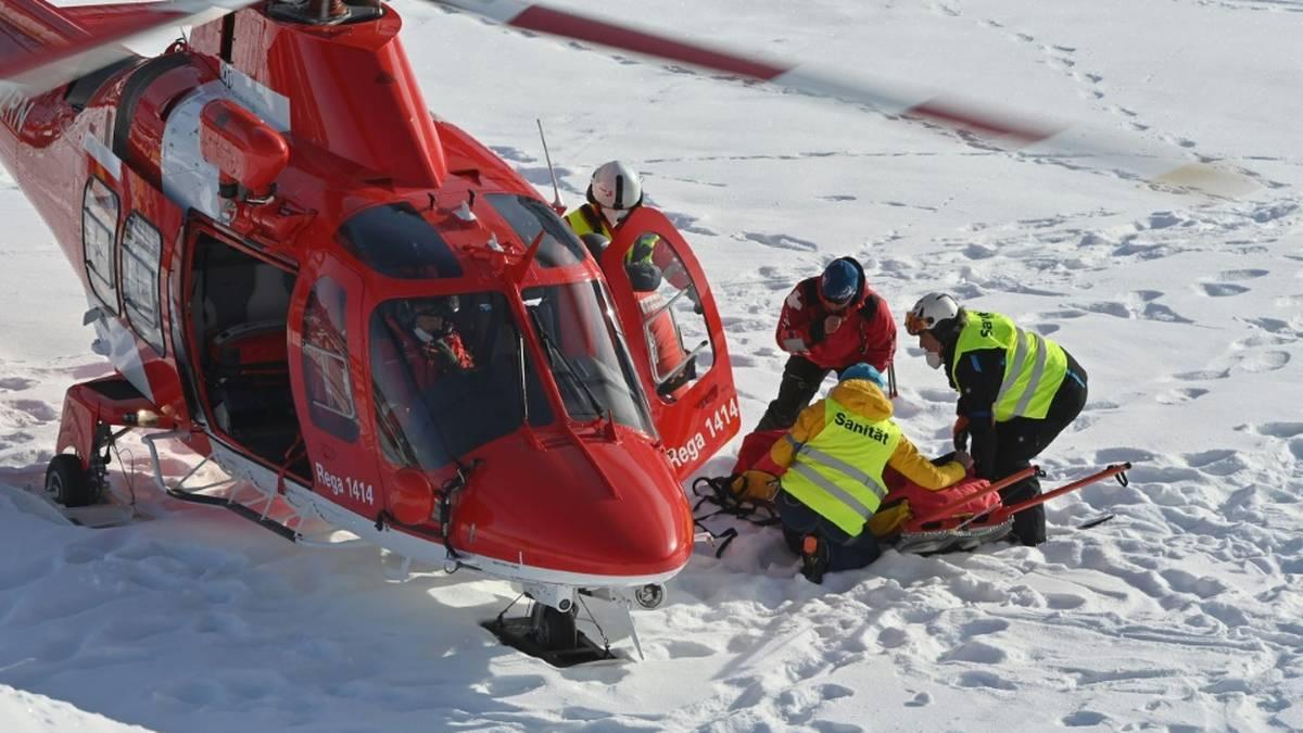 Tommy Ford wurde per Hubschrauber abtransportiert