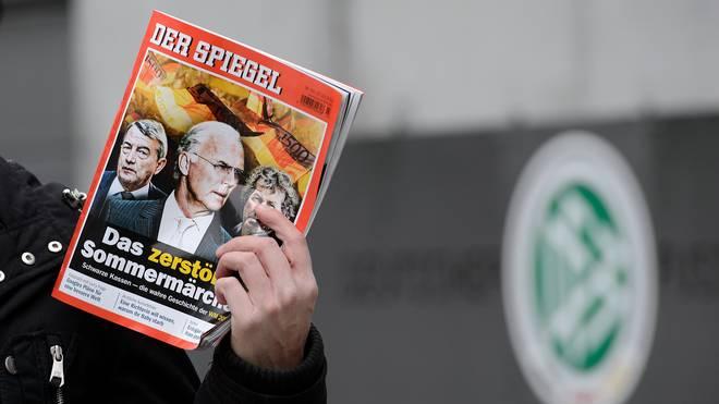Der DFB geht nun doch nicht juristisch gegen den Spiegel vor.