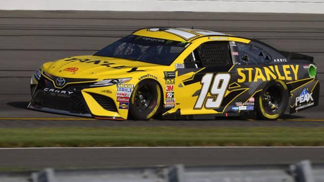 Daniel Suarez kam unverhofft zu seiner ersten Pole-Position in der NASCAR-Topliga