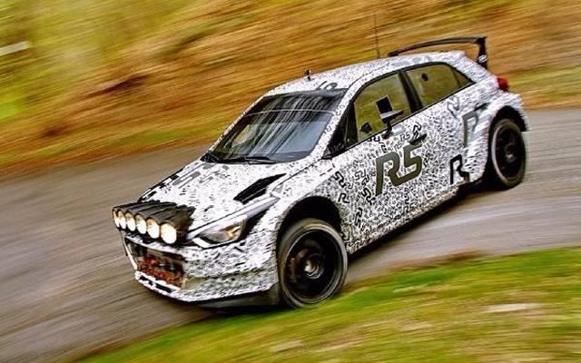 Der Hyundai i20 R5 fuhr in Italien mehr als 900 Kilometer