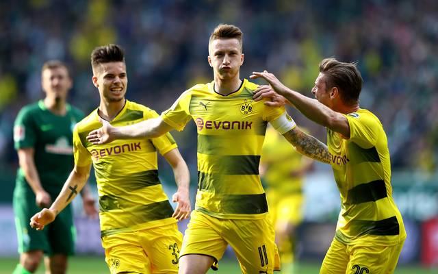 Marco Reus spielt seit 2012 bei Borussia Dortmund
