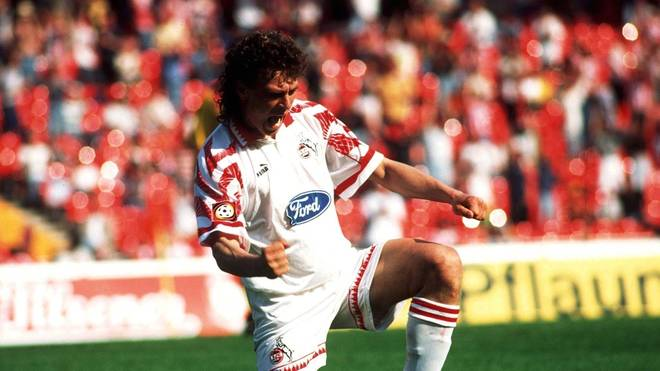 Toni Polster schoss in 181 Bundesliga-Spielen für Köln und Gladbach 90 Tore