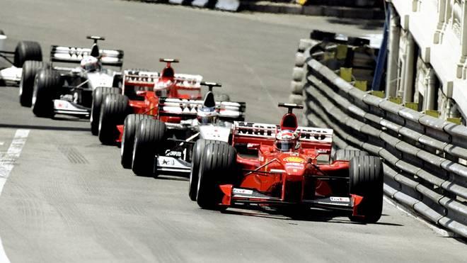 Michael Schumacher und Mika Häkkinen standen zeitweise sinnbildlich für die Rivalität ihrer Rennställe