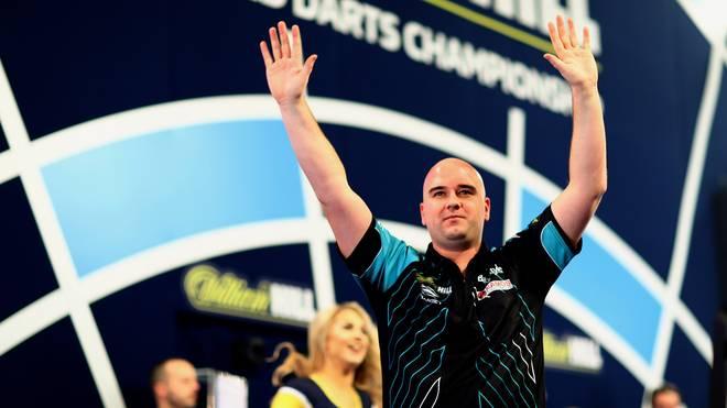 Rob Cross geht als Titelverteidiger in die Darts-WM