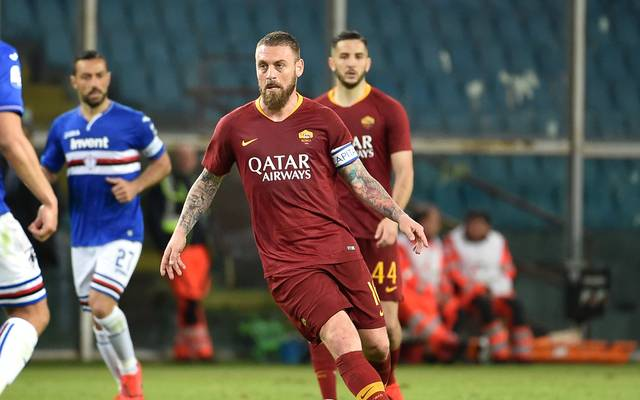 Daniele De Rossi verlässt am Saisonende seinen Stammverein AS Rom