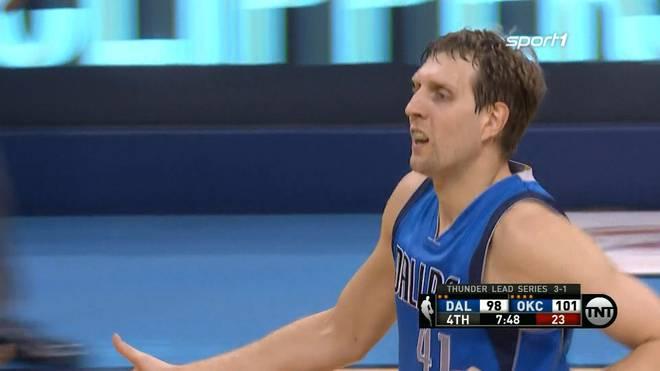 Dirk Nowitzki erzielte in Spiel fünf 24 Punkte