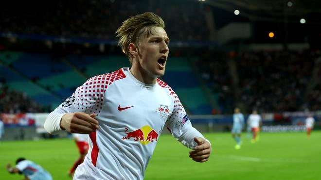 Emil Forsberg besitzt bei RB Leipzig einen Vertrag bis 2022
