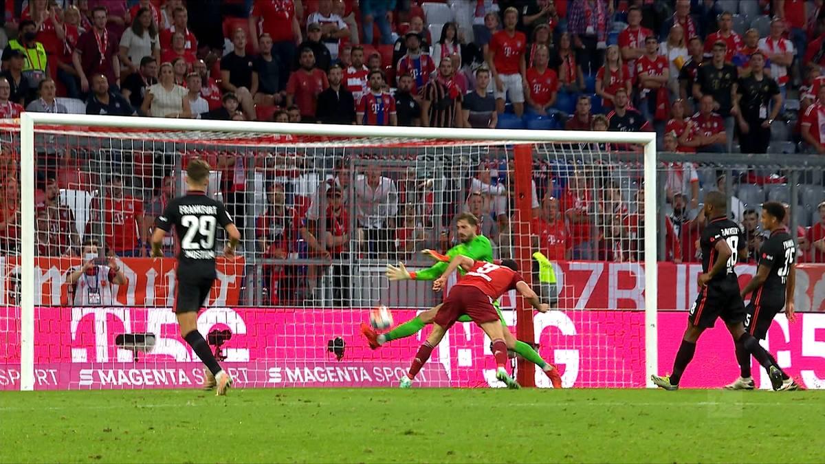 Eintracht-Keeper Kevin Trapp legte mit etlichen spektakulären Paraden den Grundstein für den Frankfurter Sieg in der Allianz Arena.