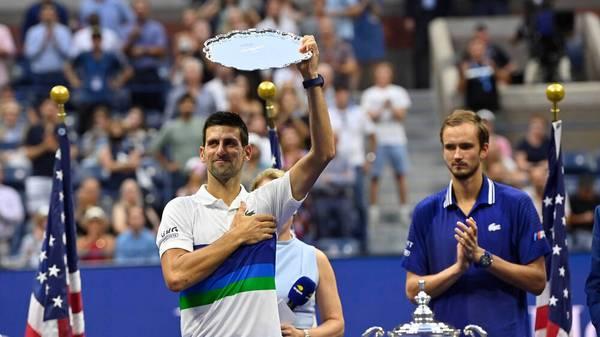 Djokovic lässt die Maske fallen