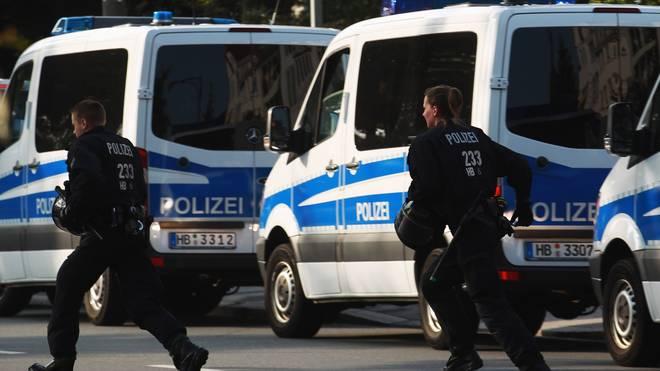 Die Polizei teilte mit: Es gab einen Verletzten