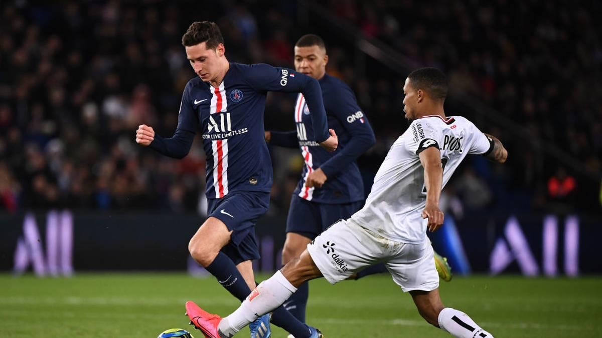 PSG überrollt Dijon - Draxler kommt in erster Hälfte