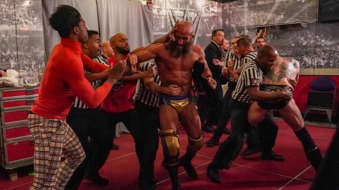 Am Ende von WWE NXT TakeOver: Phoenix flogen hinter den Kulissen die Fetzen