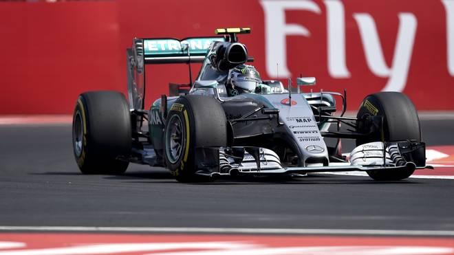 Nico Rosberg in Mexiko