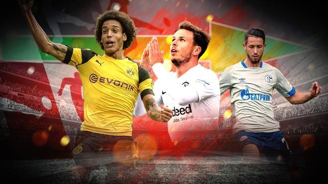 Axel Witsel, Nicolai Müller, Mark Uth und viele andere debütierten am 1. Spieltag für ihre neuen Klubs