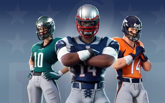 Ab dem 10. November können interessierte Fans ihre Spielfigur innerhalb von Fortnite in die Ausrüstung eines Football-Profis stecken