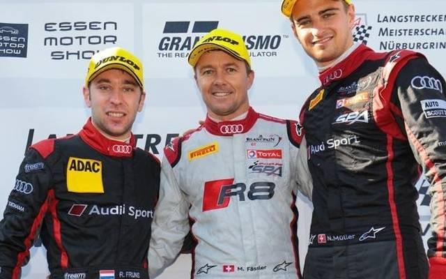 Robin Frijns (li.) und Nico Müller (re.) kennen sich aus ihrer GT-Zeit bei Audi