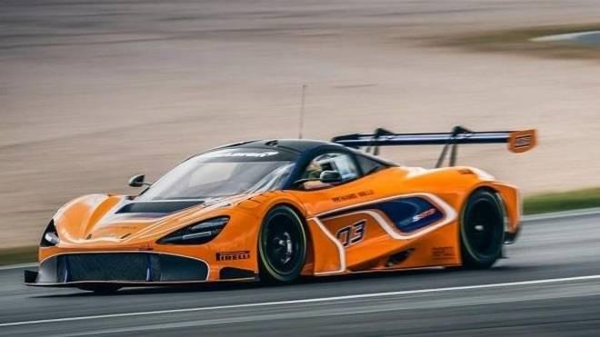 So sieht er aus, der neue McLaren 720S GT3