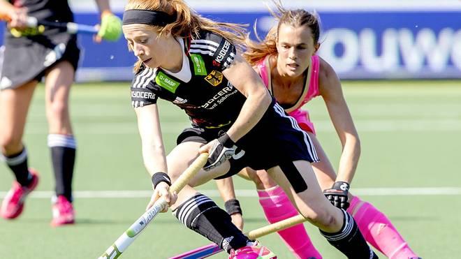 Hockey-Frauen besiegen spanien
