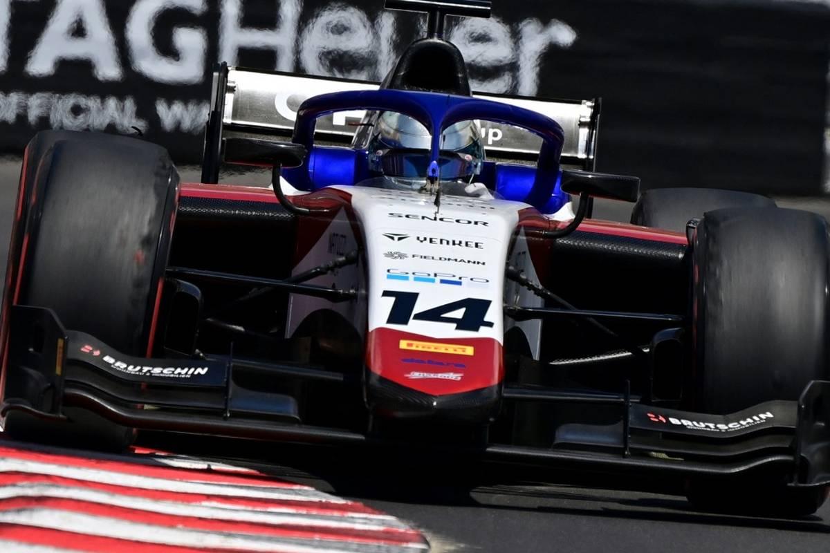 Die deutschen Formel-2-Piloten David Beckmann und Lirim Zendeli gehen beim Sprintrennen in Sotschi leer aus.