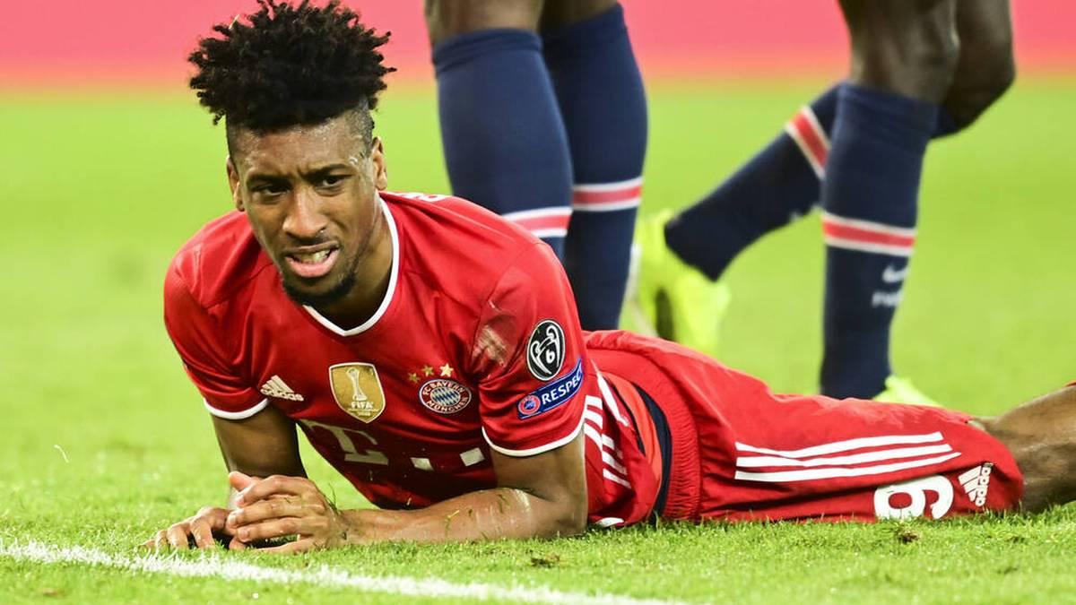Der Vertrag von Kingsley Coman beim FC Bayern läuft bis 2023