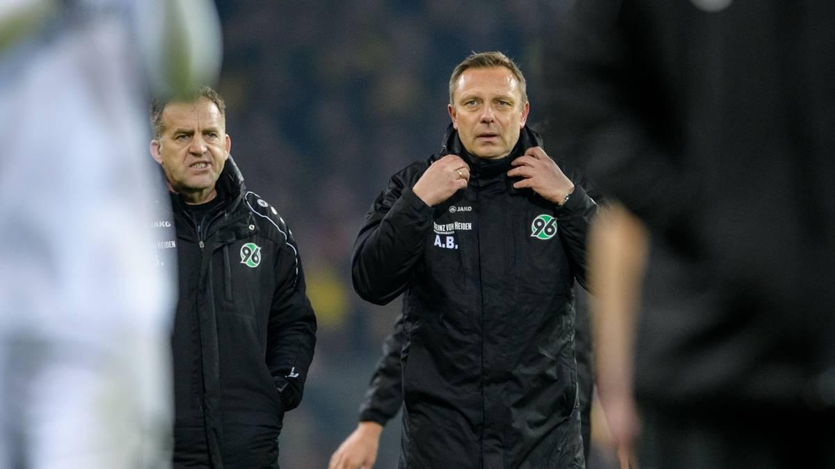 Andre Breitenreiter wurde bei Hannover 96 entlassen