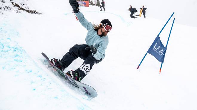Review: Sudden Rush Banked Slalom Laax 2019