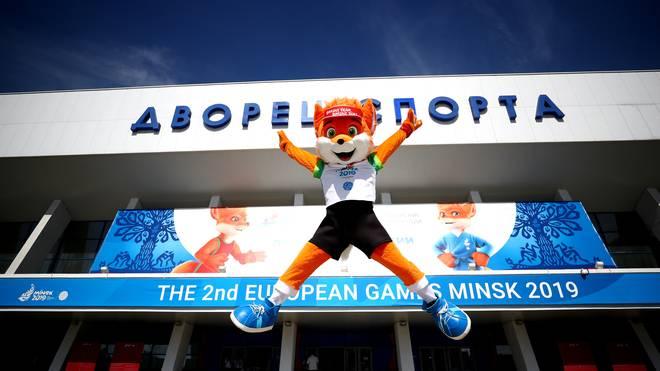 Maskottchen der European Games