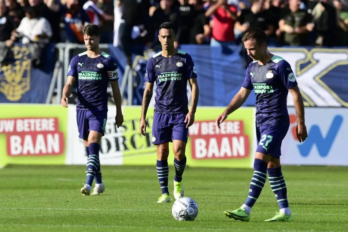 Mario Götze muss mit der PSV Eindhoven in der Eredivisie den nächsten Dämpfer hinnehmen. Das Team von Roger Schmidt rutscht in der Tabelle ab.