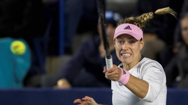 Angelique Kerber siegt beim Turnier in Monterrey zum Auftakt gegen Kristina Kucova