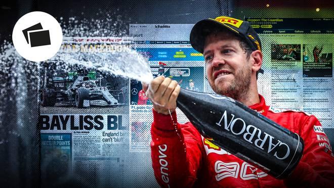 Sebastian Vettel gelang beim Deutschland-Grand-Prix eine sagenhafte Aufholjagd