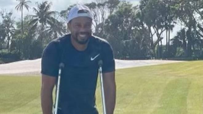 Tiger Woods kann wieder lachen