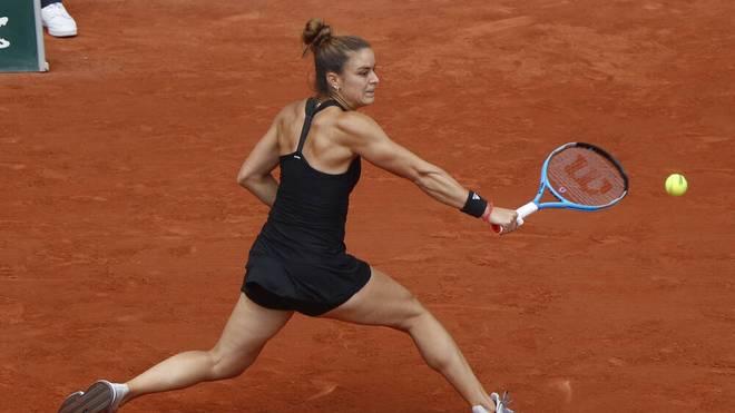 Maria Sakkari will bei den French Open ins Finale einziehen