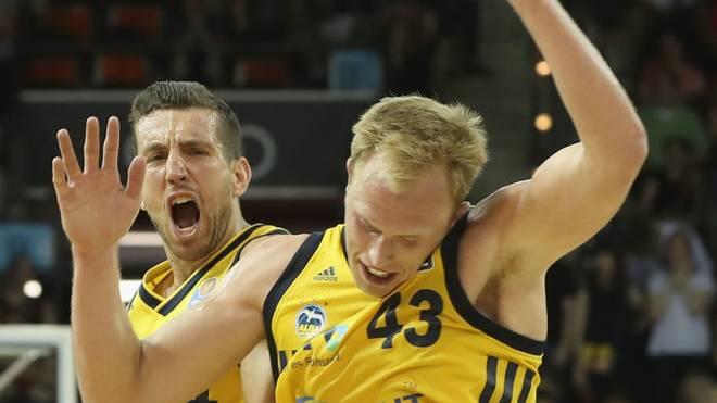 ALBA Berlin feierte gegen Zenit St. Petersburg einen knappen Sieg