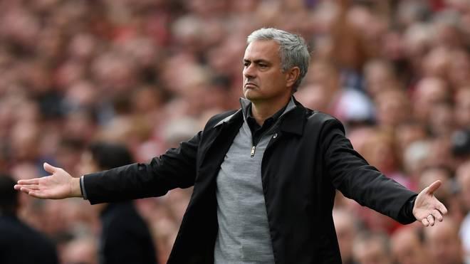 Jose Mourinho ist seit 2016 Trainer von Manchester United