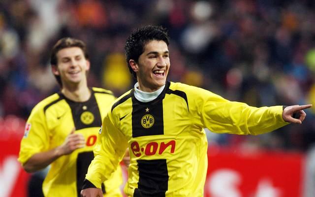 Nuri Sahin erzielte im Alter von 17 Jahren und 82 Tagen sein erstes Bundesliga-Tor