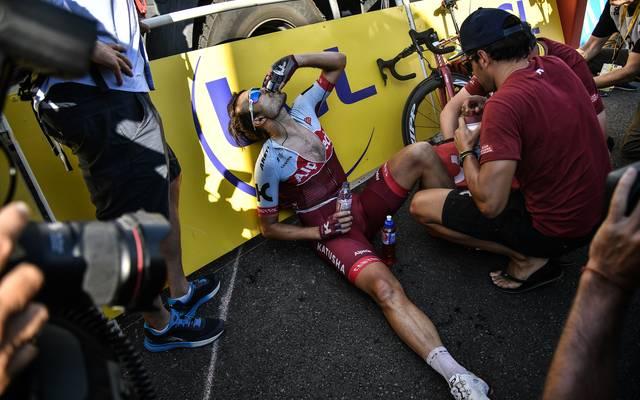 Tour de France: Rick Zabel steigt wegen eines grippalen Infektes aus, Ein grippaler Infekt zwingt Rick Zabel zur Aufgabe bei der Tour de France