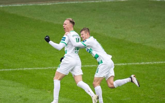 Greuther Fürth hat in dieser Saison bisher viel Grund zum Jubeln