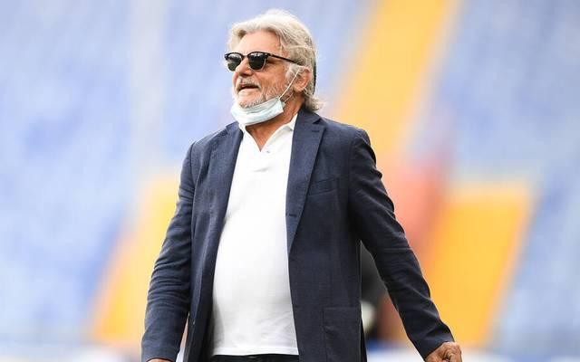 Sampdoria-Präsident Massimo Ferrero erstattet wegen anhaltender Morddrohungen Anzeige