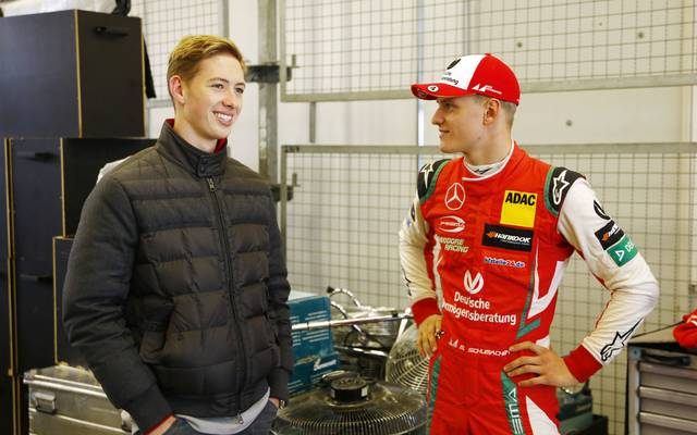 David Schumacher (l.) verlässt sein Formel-3-Team