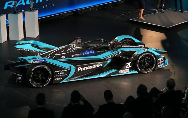 So sieht ein Formel-E-Auto für die kommende Saison aus
