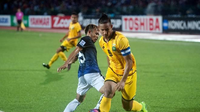 Faiq Bolkiah im Trikot der Nationalmannschaft von Brunei