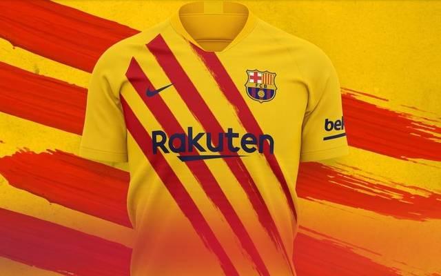 Der FC Barcelona hat sein bereits viertes Trikot für diese Saison präsentiert