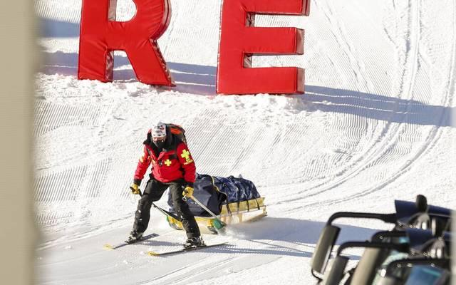 Nicole Schmidhofer stürzte bei der ersten Abfahrt in Val d'Isère schwer