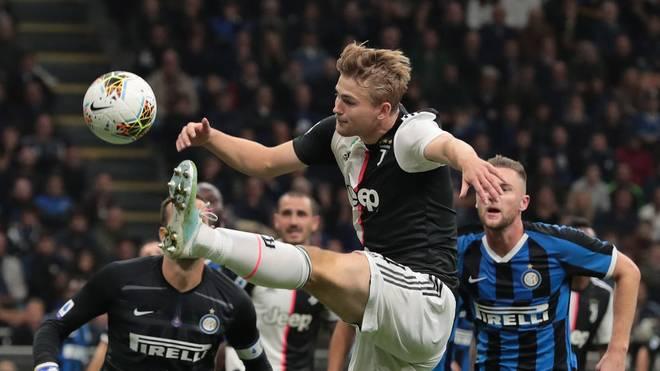 Matthijs de Ligt eröffnet mit Juve die Rückkehr des Fußball in Italien