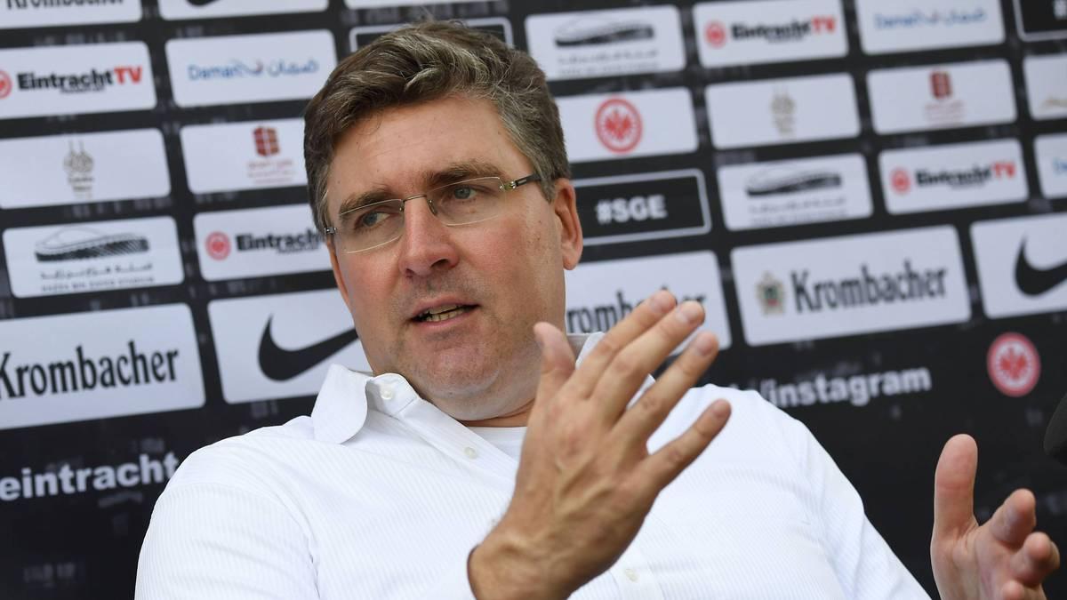 Axel Hellmann, Vorstand von Eintracht Frankfurt, warnt vor der AfD