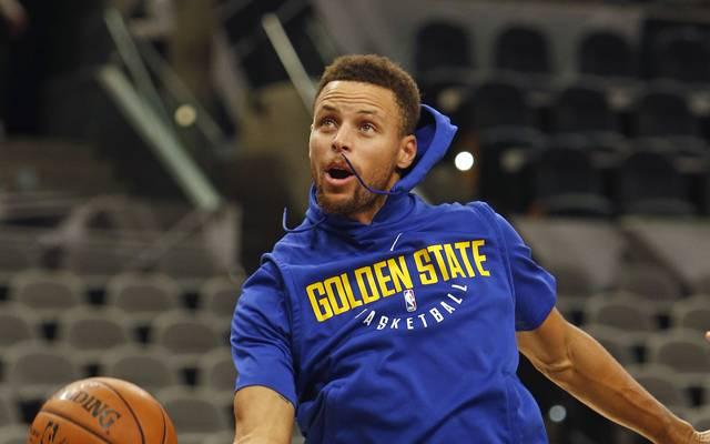 Stephen Curry ist der Superstar der Golden State Warriors