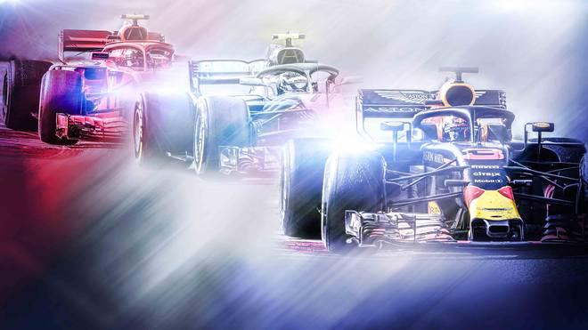 Ferrari, Mercedes oder doch Red Bull (v.l.)? Die Formel 1 entwickelt sich zum Titel-Dreikampf