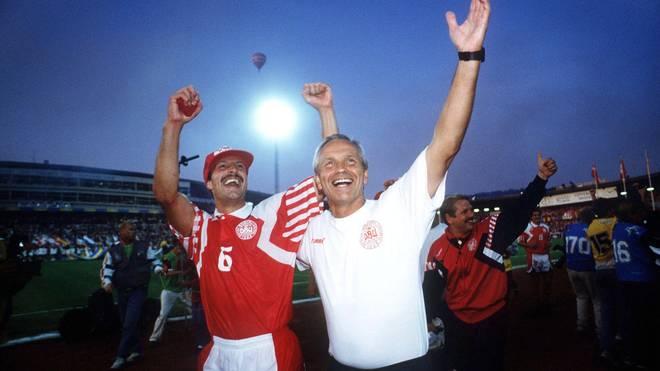 FUSSBALL: NATIONALMANNSCHAFT EM 1992, DEN - GER 2:0